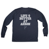The University of Akron Life's Better at Akron Women's Long Sleeve Tee
