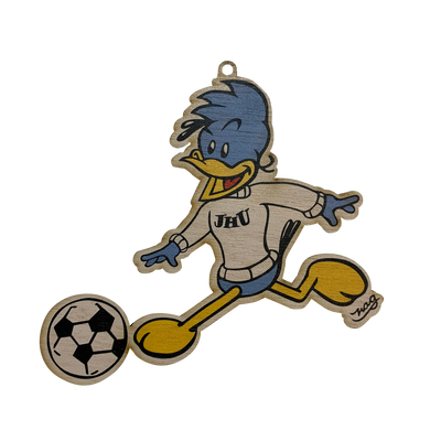 Johns Hopkins University NAG Jay Ornament - Men's Soccer