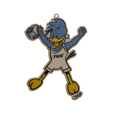 Johns Hopkins University NAG Jay Ornament - Men's Wrestling