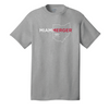 MIAMI UNIVERSITY Redhawks Miami Merger Ohio Outline Crewneck Tee