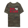 University of Dayton Red Scare Eco-Jersey Camo Crew T-Shirt