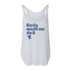 University of Dayton Rudy Made Me Do It Women's Side Slit Tank