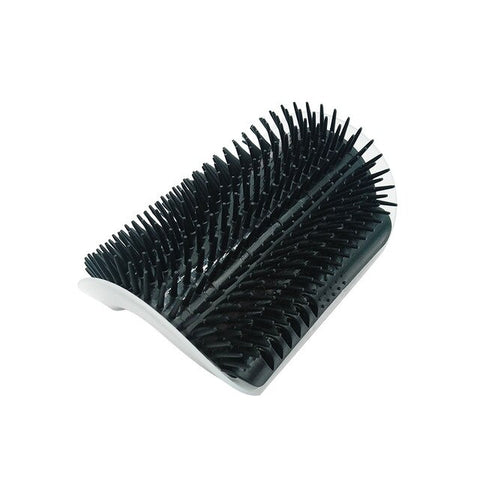 Self Grooming Massage Brush for Cats with Catnip Included