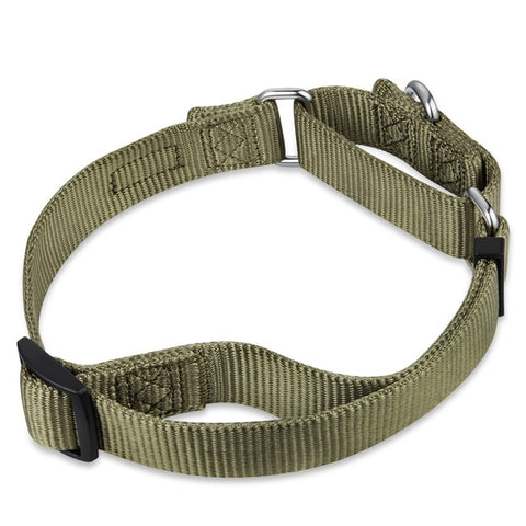 Martingale Adjustable Nylon Training Collar Multiple Sizes & Color Options
