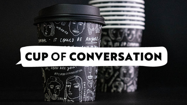Cup of Conversation - Meet the artists, Anouska