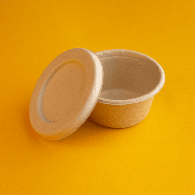 Bagasse - Lid - Tiny Tub