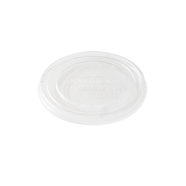 Clear Paper bowl lid