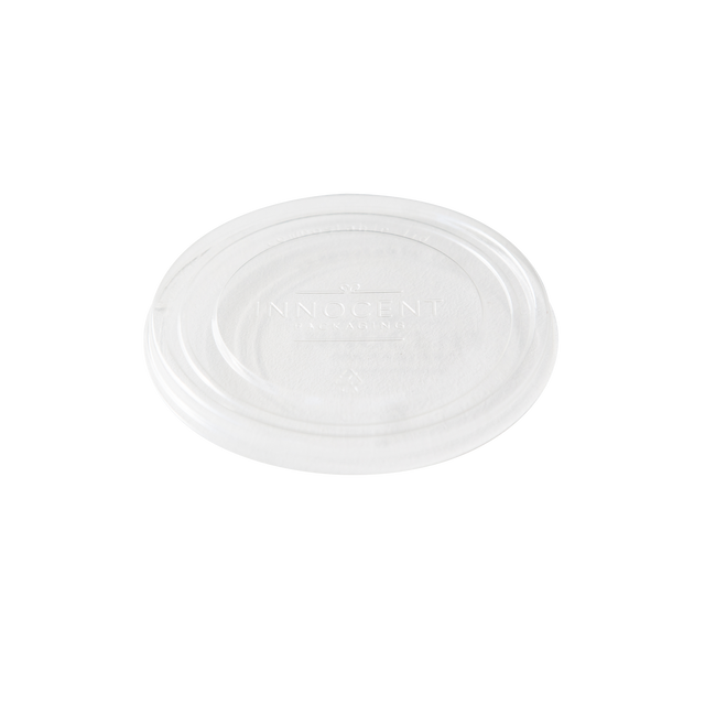 Paper Bowl Lid - Clear