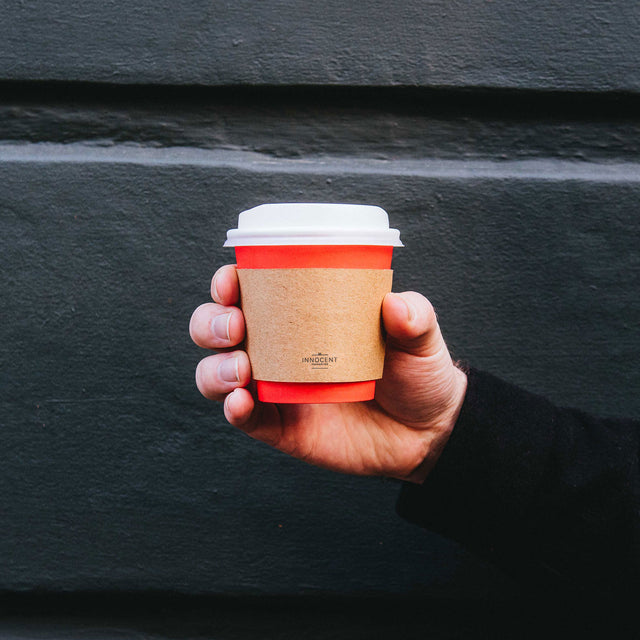Hot Cup Sleeve - Kraft