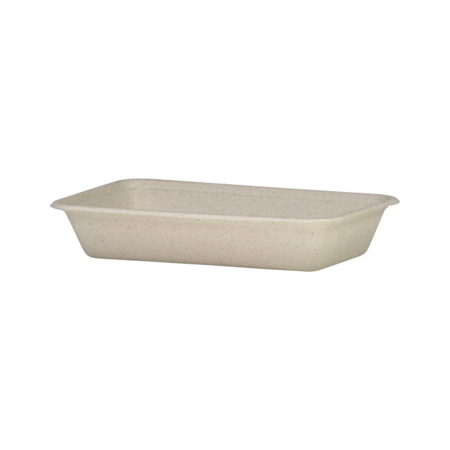 Wheatstraw - Medium Flat Container