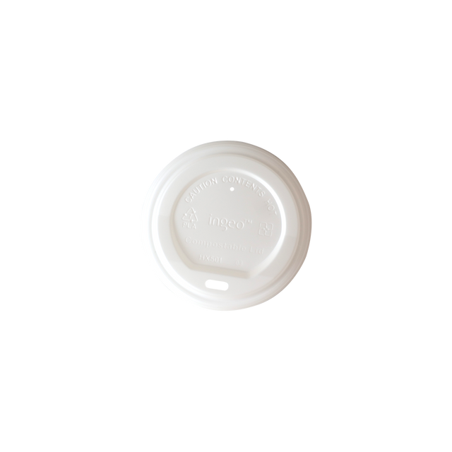 Hot Cup Lid - White