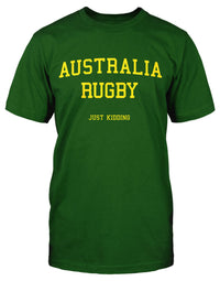 Australia Rugby Just Kidding