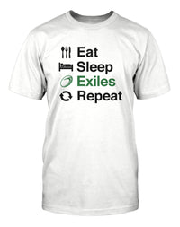 Eat Sleep London Irish Repeat