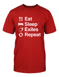 Eat Sleep London Welsh Repeat