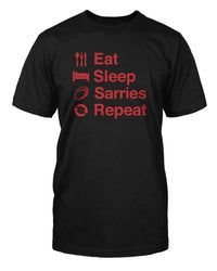 Eat Sleep Sarries Repeat