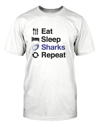 Eat Sleep Sharks Repeat