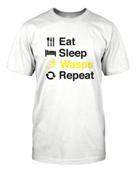 Eat Sleep Wasps Repeat