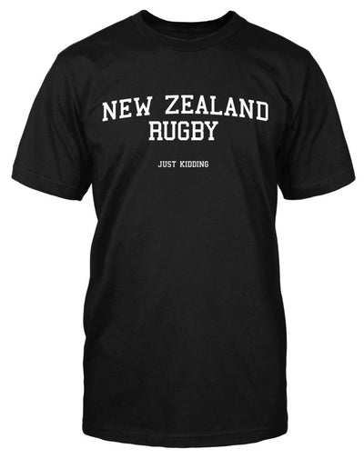 New Zealand Rugby Just Kidding