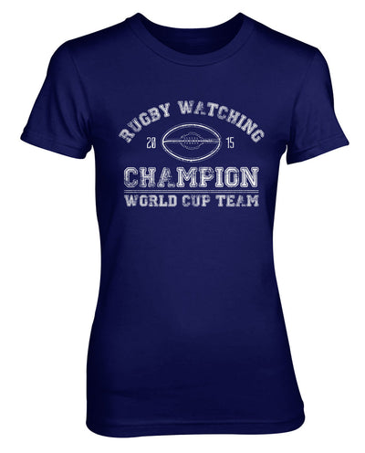 Rugby Watching Champion Womens