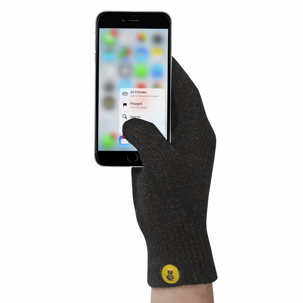Mens gloves for smartphones - Classic Winter Touchscreen Gloves