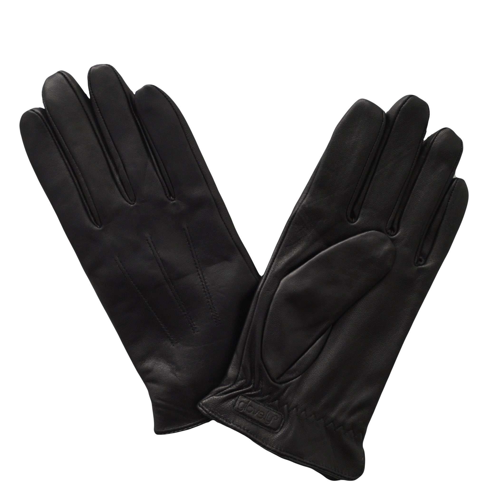 Womens leather touchscreen gloves -  Women S Classic Leather Touch Screen Glove Black