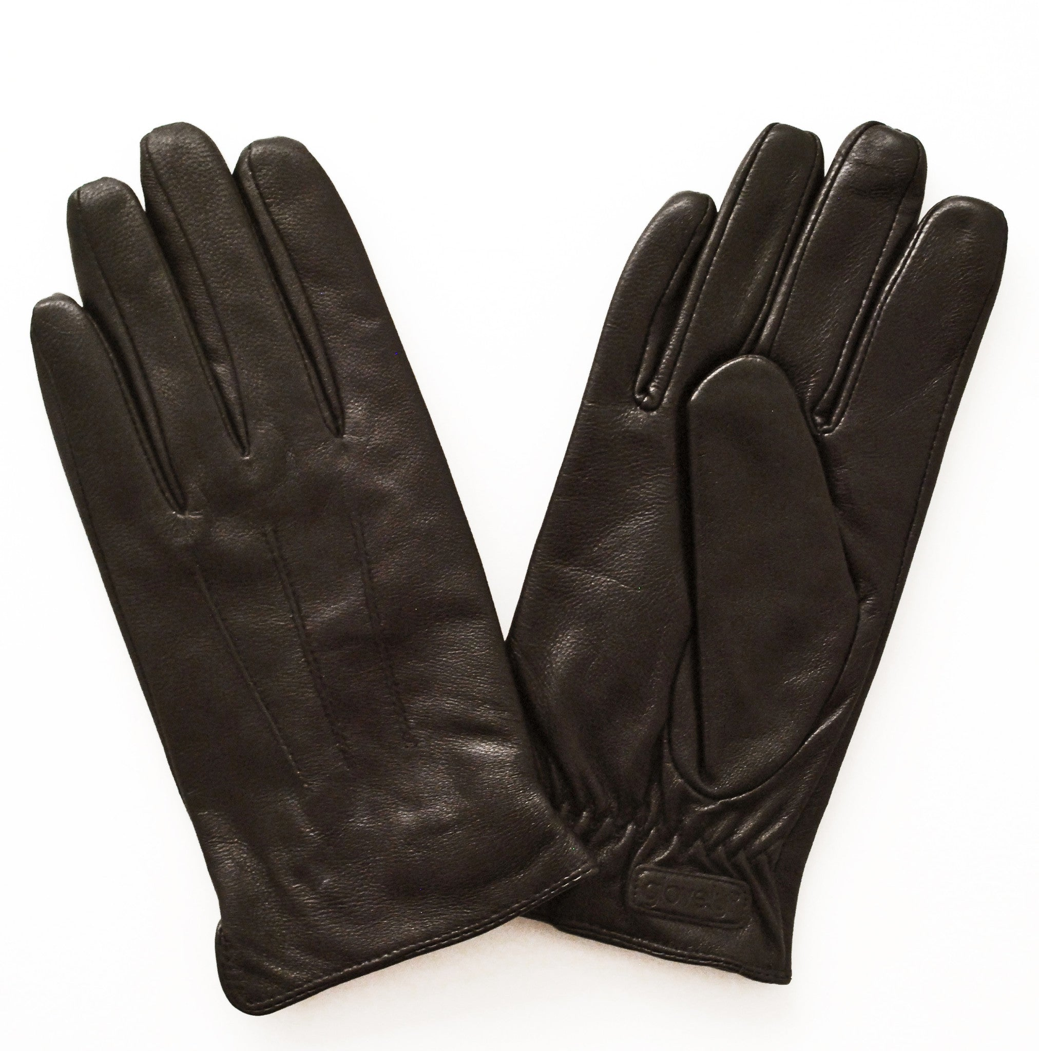 Womens leather touchscreen gloves -  Women S Classic Leather Touch Screen Glove Brown