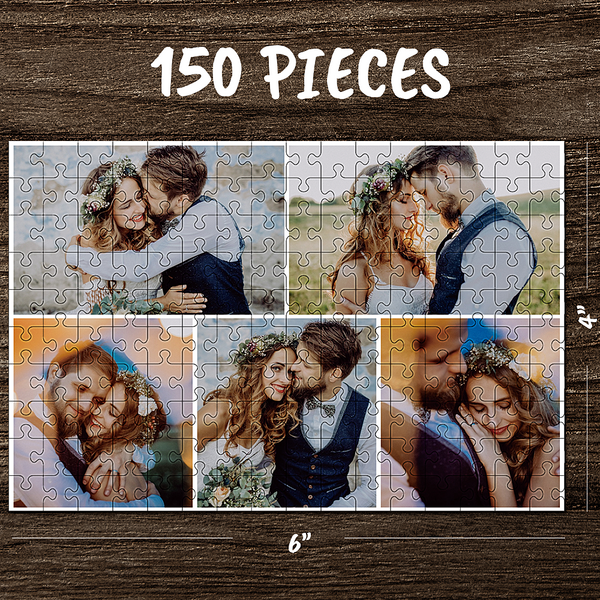 Custom Photo Jigsaw Puzzle Best Gifts For Love - 35-1000 pieces - MyPhotoSocks