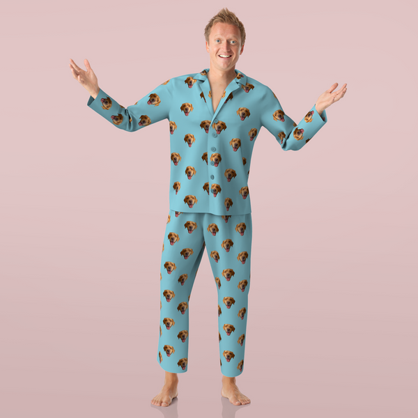 Custom Face Pajamas - Dog - MyPhotoSocks