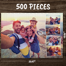 Custom Photo Jigsaw Puzzle Best Gifts For Family - 35-1000 pieces - MyPhotoSocks