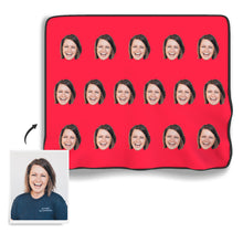 Face Colorful Photo Blanket - MyPhotoSocks