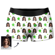 Custom Good Luck Boxer Shorts - MyPhotoSocks