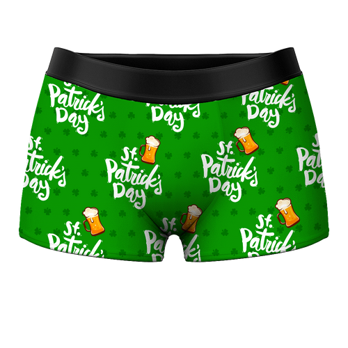Men's Boxer Shorts - St Patrick's Day - MyPhotoSocks