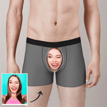 Custom Face Boxer Shorts Zipper Underwear - MyPhotoSocks