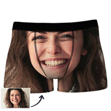 Custom Face Man Boxer Seamless Overall View - MyPhotoSocks