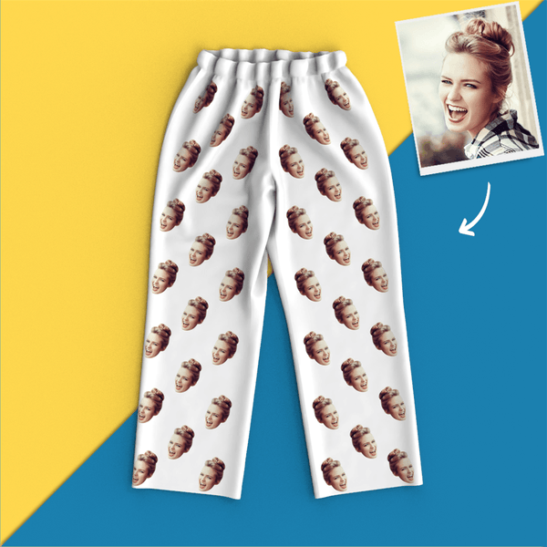 Custom Face Pajamas - Colorful - MyPhotoSocks