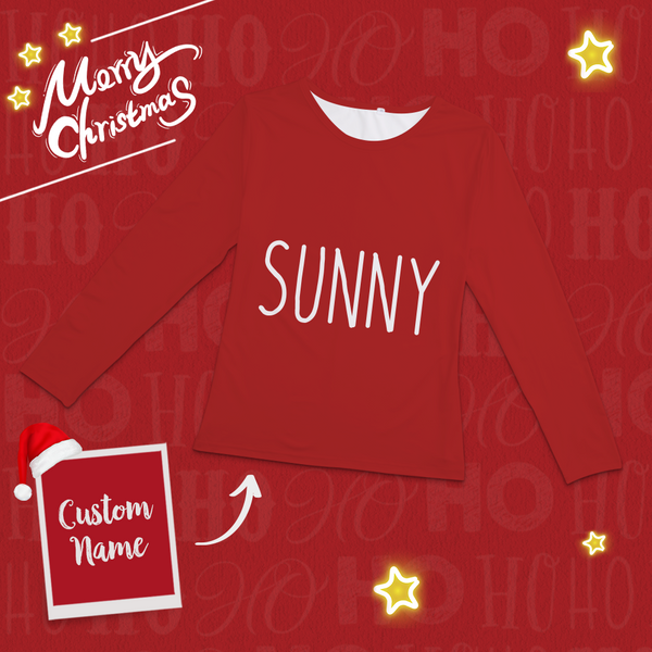 Custom Merry Christmas Pajamas Classic Red And Green Set