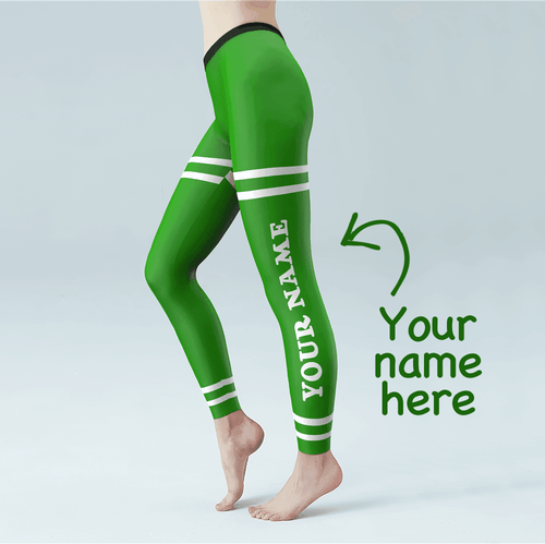 Custom Woman's Leggings-St.Patrick's Day - MyPhotoSocks