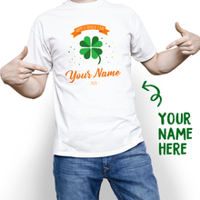 Custom Funny St. Patrick's Day With Your Name T-shirt - MyPhotoSocks