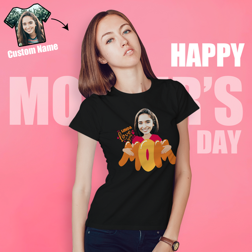 Mother'S Day Gift-Customize A Personalized Selfie Emoji T-Shirt