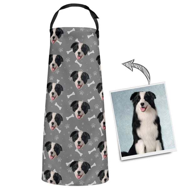 Custom Dog Photo Pet Apron