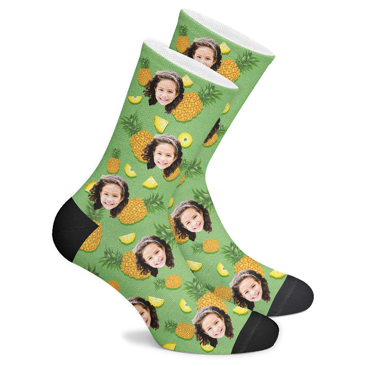 Custom Pineapple Socks - MyPhotoSocks