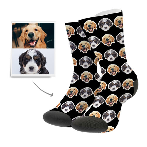 Custom Photo Socks Comic Style - MyPhotoSocks