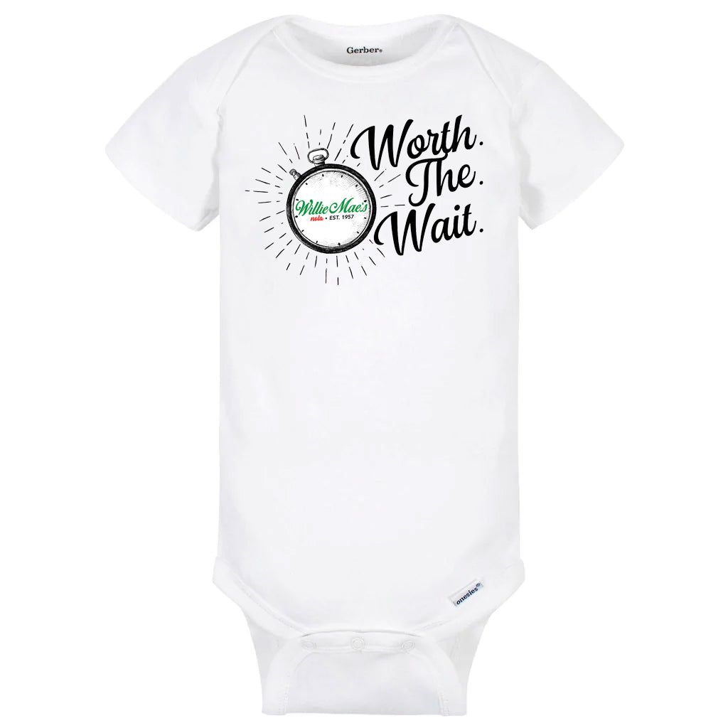 WMSH 'Worth The Wait' Onesie