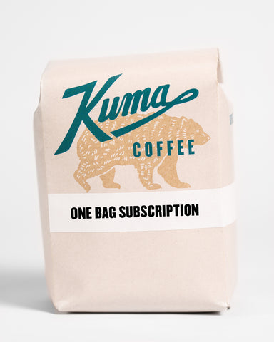 Coffee Subscription - Single Retail Bag