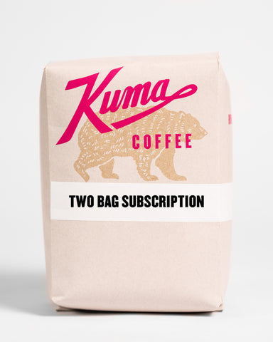 Coffee Subscription - Two Retail Bags