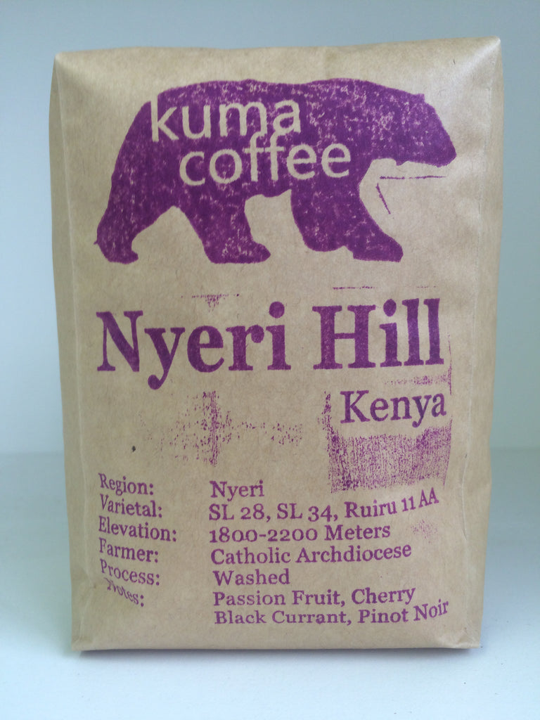 Kenya Nyeri Hill **NEW**