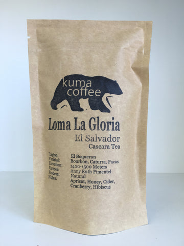 El Salvador Loma La Gloria Cascara Tea