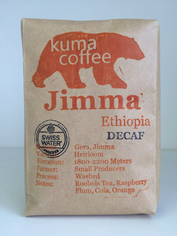 Ethiopia Jimma Decaf **NEW**