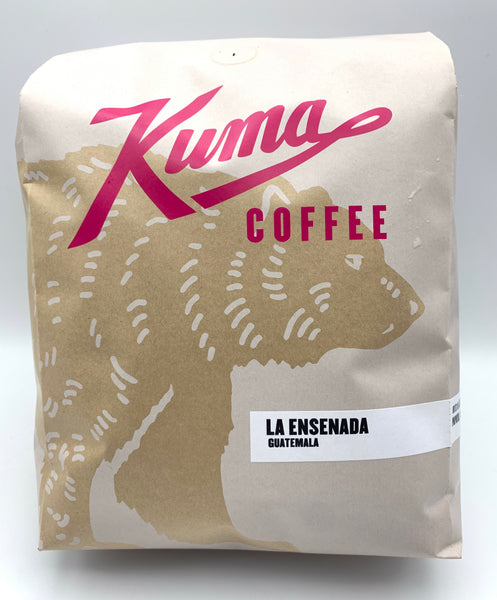 5 lbs bulk bag of La Ensenada, Guatemalan coffee, roasted by Kuma Coffee