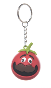 Fortnite Funny Tomato Keychain Car Decorations Key Ring